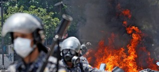 Venezuela: Es fühlt sich an wie Krieg