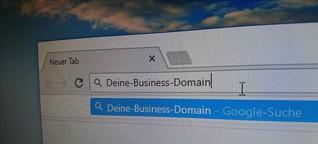 Finden den richtigen Business-Domainnamen - Auf diese Punkte solltest du achten