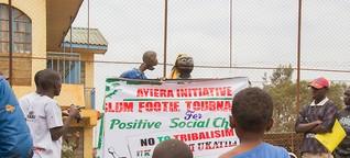 Kicken für den Frieden. Vor den Wahlen in Kenia