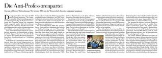 AfD: Die Anti-Professorenpartei
