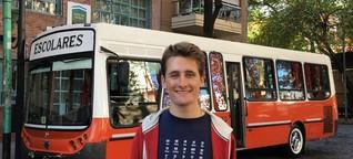 Junge Kulturbotschafter: Joshua Hellinger in Buenos Aires