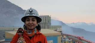 Auf der Jagd nach schlummernden SchätzenÜber die Frauen in Chiles Bergbau
