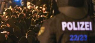 Hooligan-Ausschreitungen in Leipzig: Gute Loksche, böse Loksche