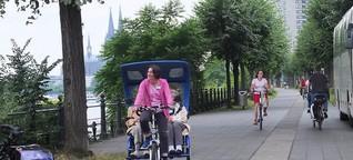 Rikschas am Rhein: Frische Luft weckt Sinne und Erinnerungen bei Senioren