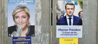 Macron vs. Le Pen: Was denken junge Franzosen?