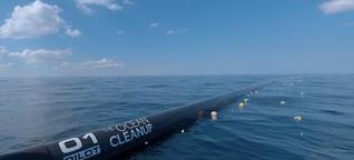 "Plastikmüll in Meeren: ""Ocean Cleanup"" soll früher starten"