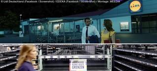 Edeka vs. Lidl: Das Video-Duell geht in die nächste Runde