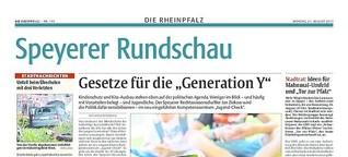 """""""Verspielt nicht unsere Rente"""": Jugend-Check für die Generation Y"""