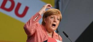 Merkel auf Wahlkampftour: Passt schon!
