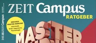 ZEIT CAMPUS Masterstudium 2017