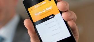 BUNDESTAGSWAHL 2017 Sind bald elektronische Wahlen mit dem Smartphone möglich?