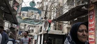 Im Libanon wird es eng