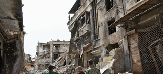Putins Bomben zerstörten Yassirs Hoffnung