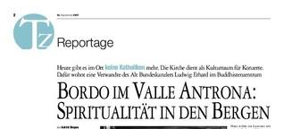 Bordo im Valle Antrona: Spiritualität in den Bergen
