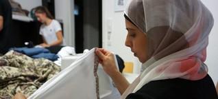 Modelabel mit Flüchtlingen: Elham gelingt der Schnitt