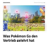 Was Pokémon Go den Vertrieb gelehrt hat