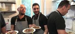 Videobeitrag - Abendessen mit syrischen Flüchtlingen (Schwäbisches Tagblatt 03.05.16)