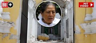 """Taufkind, Mutter und neun weitere Menschen starben bei Mexiko-Beben - """"Ich verlor meine Familie in der einstürzenden Kirche"""