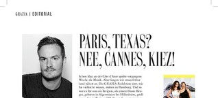 Paris, Texas? Nee, Cannes, Kiez!