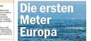 Die ersten Meter Europa