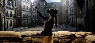 Fortbewegung in Virtual Reality: Gar nicht so übel