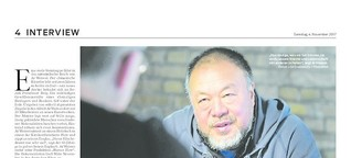 Interview mit Ai Weiwei