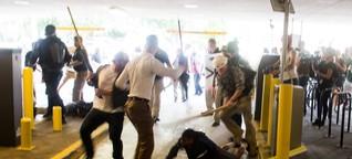 Von Rassisten zusammengeschlagener Mann will Gerechtigkeit