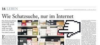 Wie Schatzsuche, nur im Internet