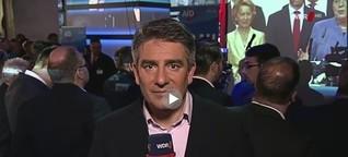 WDR: Rupert Wiederwald bei der AFD Wahl-Party