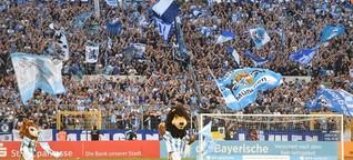 1860 München in der Vierten Liga - Löwenfans sind treu wie eh und je