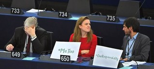 Debatte im EU-Parlament: Von #metoo zu #notme