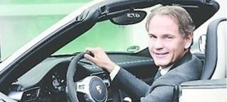 Oliver Blume, Vorstandsvorsitzender der Porsche AG, im Interview