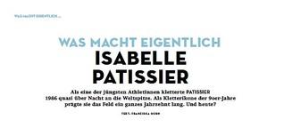 Was macht eigentlich... Isabelle Patissier?