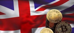 Großbritannien will Handelsplätze für Kryptowährungen regulieren