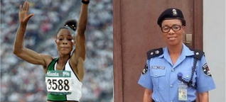 First Olympic Gold Medalist, Chioma Ajunwa