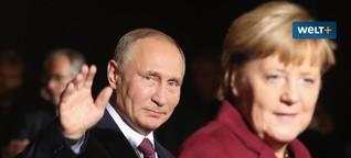 Nord Stream 2: Mehr als 60 Treffen zwischen Merkels Regierung und Konzernen - WELT