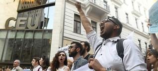 Politik unter Orbán: Ungarns Jugend wehrt sich