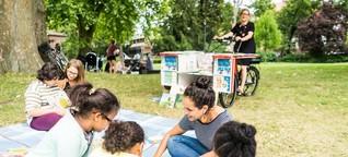 Literatur: Bücher auf Rädern