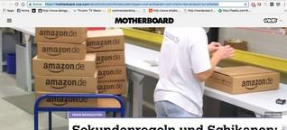 Sekundenregeln und Schikanen: Vom Irrsinn, bei Amazon zu arbeiten