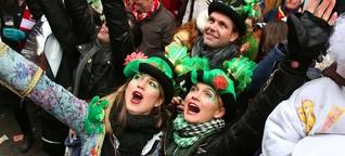 Beim Karneval: Kamelle am Kopf, Tulpe im Auge - kann ich deswegen klagen?