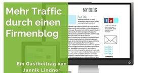 Mehr Traffic durch einen Firmenblog