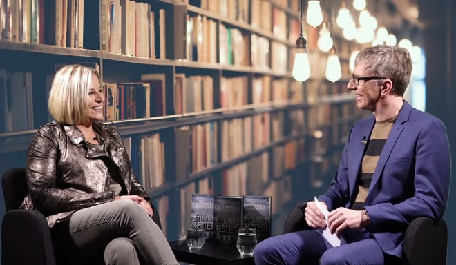 Web-TV Moderation mit Elisabeth Herrmann