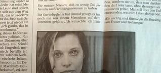 Saskia Jungnikl: Versöhnt mit dem Tod