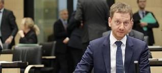 Sondierungsgespräche: Kretschmer fordert Innovationskoalition