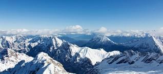 Zugspitze: Auf die Spitze getrieben