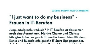Afrikas Frauen in IT-Berufen: 