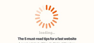 5 must-read tips for a fast website