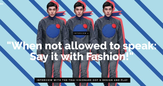 """""""When Not Allowed To Speak: Say It With Fashion!"""""""