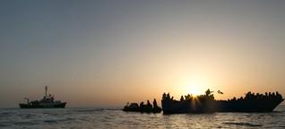 """Hintergrund: """"Italien und Libyen verletzen das Menschenrecht auf Ausreise"""""""