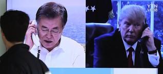 Annäherung im Korea-Konflikt: Kim Jong Un stimmt Gesprächen zu